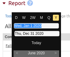 When preparing the employee timesheet export, be sure to select an entire year's worth of time data.